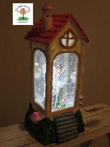 Bucking unicorn and fairy glitter lantern waterball snow globe light night house