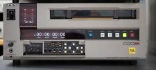 SONY UVW-1800P VCR PAL Format with new audiovideo cleaner and pinch roller
