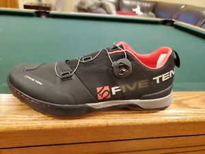 Mens Five Ten Kestrel Cycling Mountain Bike Shoes Size 13  Team Black 2 Bolt