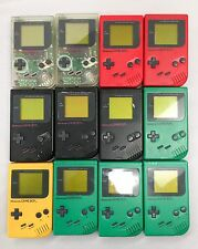 Wholesale Lot - 12pc Nintendo Gameboy Defective Assorted Colors for Repair/Parts