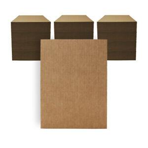 "300 - 9"" x 12"" Corrugated Cardboard Pads Inserts Sheet Kraft 32 ECT Made in USA"