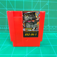 Super 852 in 1 Game NES Classic 8 bit! Game Cartridge US Version! NTSC and PAL!!