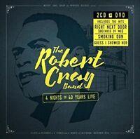 THE ROBERT CRAY BAND 4 Nights Of 40 Years Live 2CD/DVD NEW Digipak NTSC ALL