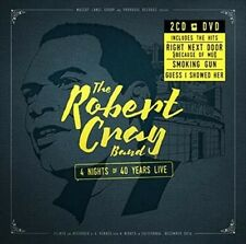 4 Nights of 40 Years Live [2-CD/DVD] [Digipak] by Robert Cray (CD, Aug-2015, 3 Discs, Provogue)