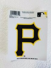 "Pittsburgh Pirates 3"" x 4"" Small Static Cling P Logo Truck Car Auto Window Decal"