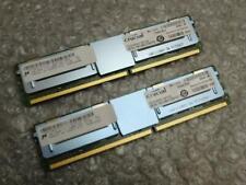 8GB Kit Crucial Micron CT51272AF667.36FE1D4 PC2-5300F DDR2 ECC Server Memory RAM
