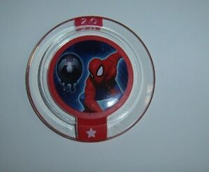 DISNEY INFINITY 2.0 Marvel Heroes Power Disc Spider Man Alien Symbiote Costume