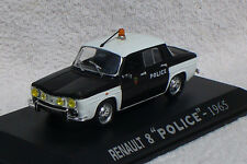 Renault 8 Police Polizei 1965 1:43 UH/Hachette