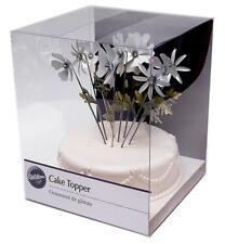 Wilton New in Box Flower Picks Cake Topper 120-528