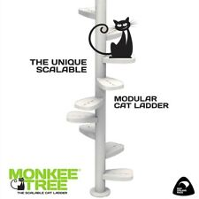 Monkee Tree - The Scalable Cat Climbing Ladder 12 Trunk Starter Pack