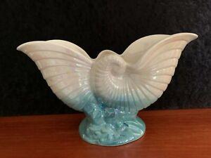 Vintage Australian Pottery Lusterware Mingay Planter/Vase Stylised Shell