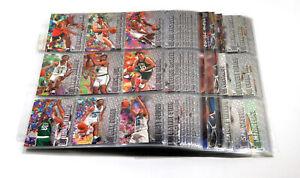 1996-97 Fleer Metal Basketball Near Complete Set (244/250)