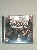 Medal of Honor Allied Assault 2 Disc PC Game 2002 Good Condition