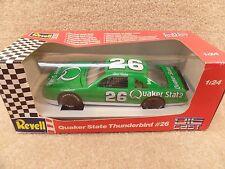 New 1992 Revell 1:24 Scale Diecast NASCAR Brett Bodine Quaker State Thunderbird