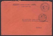 POSTA MILITARE 1945 Lettera da PM 155 a Roma (FMB)