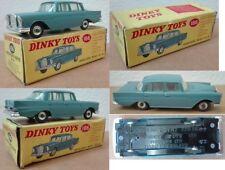 Dinky Toys 186 Mercedes Benz 220 SE die cast 1/43 blue
