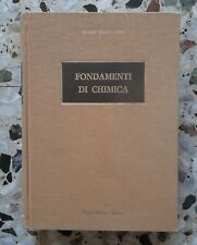 FONDAMENTI DI CHIMICA - PAOLO SILVESTRONI - EDITRICE EREDI VIRGILIO VESCHI 1984