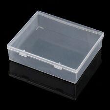 Pièces boîte en plastique boîtes transparents composants vis outil