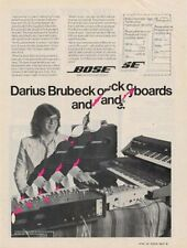 Darius Brubeck Downbeat Trade Press Advert