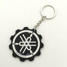 Buena moto goma llavero negro yamaha Keychain Key ring VNC