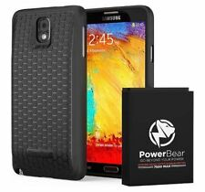 PowerBear Note 3 Extended Battery 7500mAh Samsung Galaxy Black
