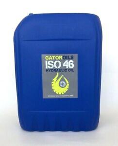 20 litres Gator ISO 46 Hydraulic Oil Virgin Grade DIN 51524 part 1 and 2 fluid