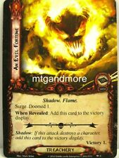 Lord of the Rings LCG  - 1x An Evil Fortune  #009 - Nightmare Deck Khazad-Dum