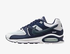 Nike Mens AIR MAX COMMAND Pure Platinum / Navy / White Trainers - uk 8 - eu 42.5