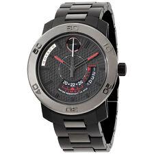 Movado Swiss Bold Black Stainless Steel Bracelet Date Men's Watch 3600384