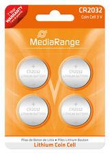 4x CR2032 Batterie Lithium Knopfzelle 3V CR2032