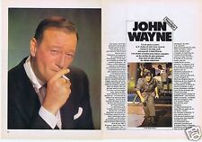 Coupure de presse Clipping 1980 John Wayne   (5 pages)