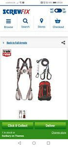 JSP Pioneer Safety Harness Kit Used Once
