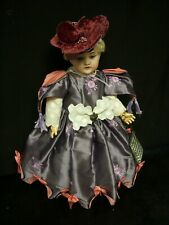 Bru Type Dress, All Silk - for 16-17� Antique French/German Bisque Doll (Dr7)