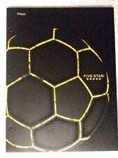 Soccer Mead Five Star 4-pocket folder - school supplies New