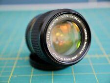 Minolta Rokkor 100mm f2.5 lens