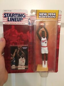 Dominique Wilkins Vintage 1994 Clippers NBA Starting Line Up Action Figure