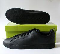 New with Box Adidas Mens Advantage Clean VS Sneaker, Black, size 10