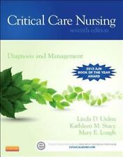 Critical Care Nursing: Diagnosis and Management by Linda D. Urden (English) Pape