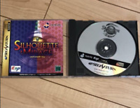 SILHOUETTE MIRAGE Sega Saturn SS From Japan Used