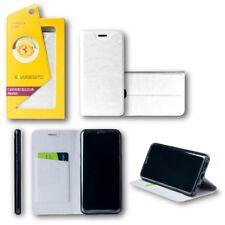 pour Huawei P20 Pro Clapet / Smart Cover blanc étui de protection couverture,