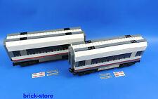 LEGO® City/ Eisenbahn (60051) 2x Waggon/Mittelwaggon  Erweiterung aus Set 60051