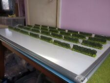 28x Hedges 28mm Scenery Terrain Warhammer LOTR Painted Epic 40k 0Scale Wargaming