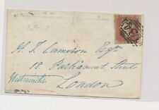 LM73978 Great Britain 1876 old letter cover with nice cancels used