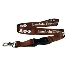 Lambda Theta Phi Lanyard With Buckle - Licensed Vendor