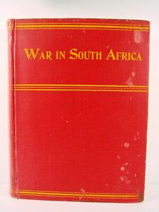 1899 WAR IN SOUTH AFRICA, ILLUSTRATED, WILLIAM HARDING
