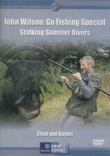 John Wilson: Go Fishing Special Stalking Summer Rivers Chub and B... - DVD  YMVG