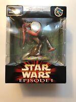Star Wars Episode I Jar Jar Binks Mini Figure Clock, New In Box.