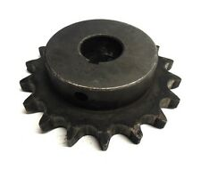 "MARTIN 60BS18 1-1/8 SPROCKET FINISHED BORE WITH KEYWAY 18 TEETH 1-1/8"" BORE"