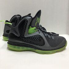 Nike Lebron 9 Dunkman Dark Grey Black Volt Size 9 469764-006
