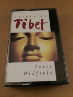 Terry Oldfield : Spirit Of Tibet : Vintage Cassette Tape Album From 1994